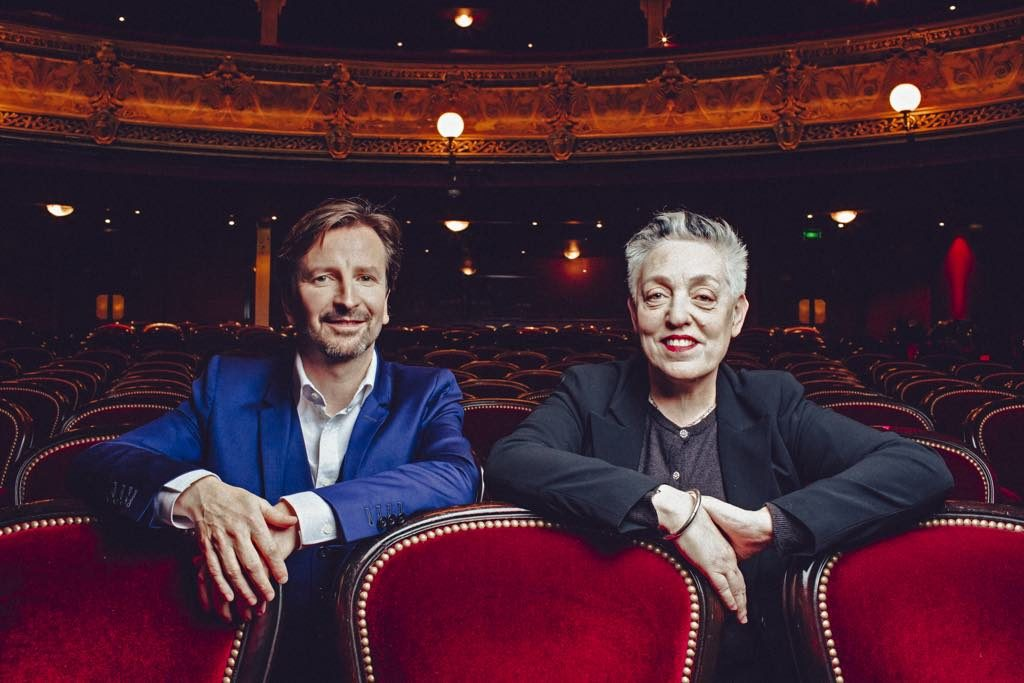 Théâtre du Châtelet General Manager Thomas Lauriot dit Prévost and Artistic Director Ruth MacKenzie.