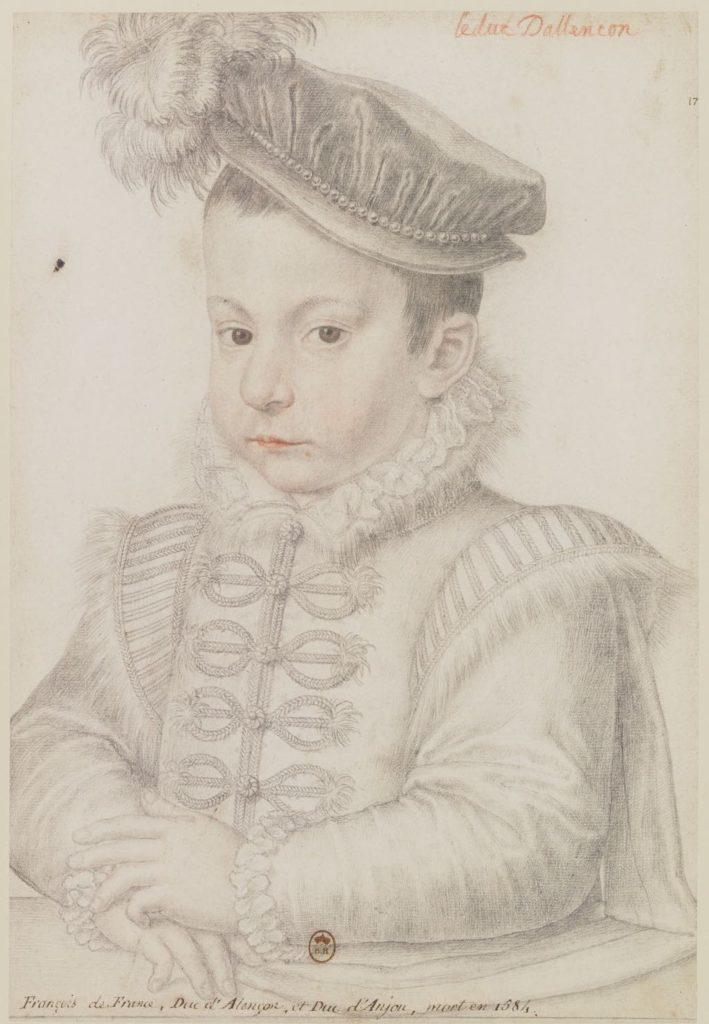 """""""François de France"""" (c. 1558). Anonyme Lécurieux. © BnF"""