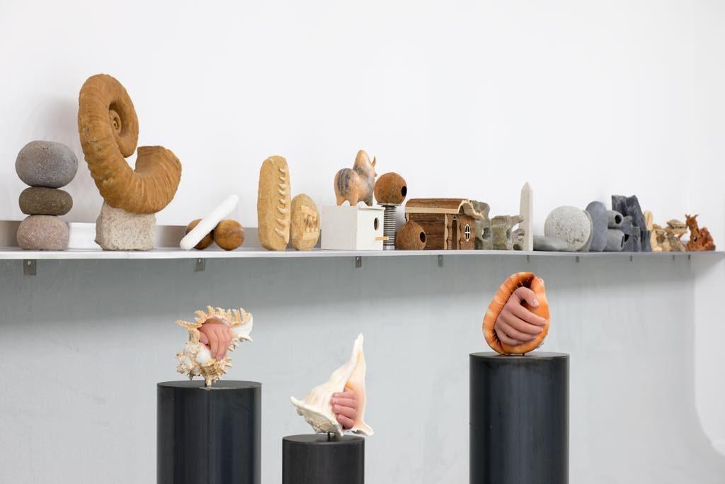 """View of Théo Mercier's exhibition """"Every Stone Should Cry"""" at the Musée de la Chasse et de la Nature. © Erwan Fichou, 2019/ADAGP"""