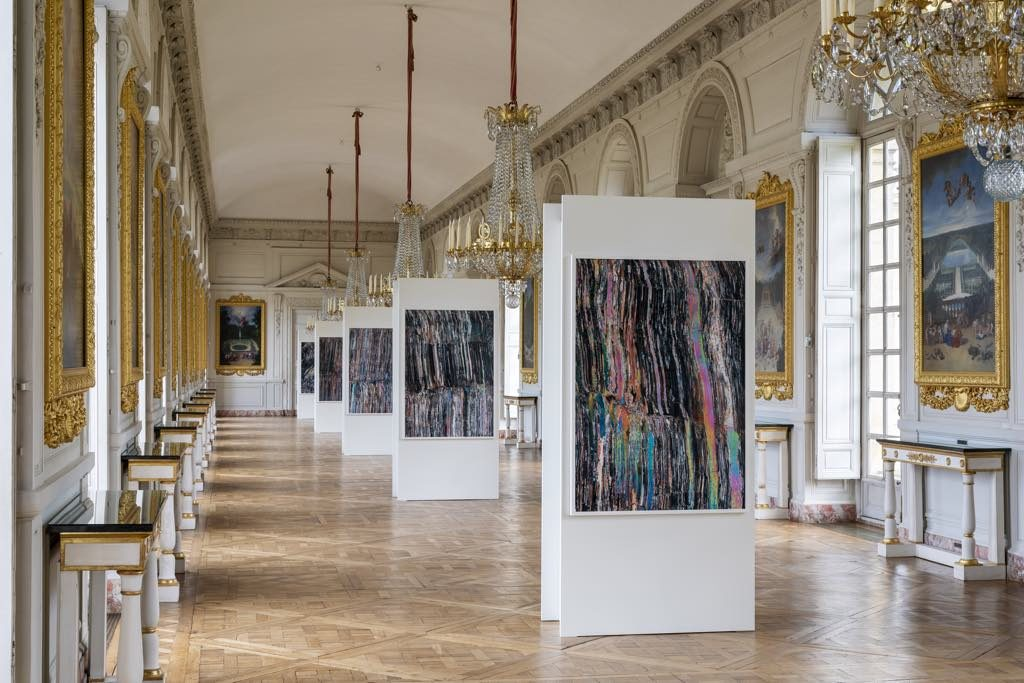 "Exhibition view of ""Versailles: Visible/Invisible,"" Château de Versailles, 2019. Courtesy of the artist Dove Allouche. © Tadzio"