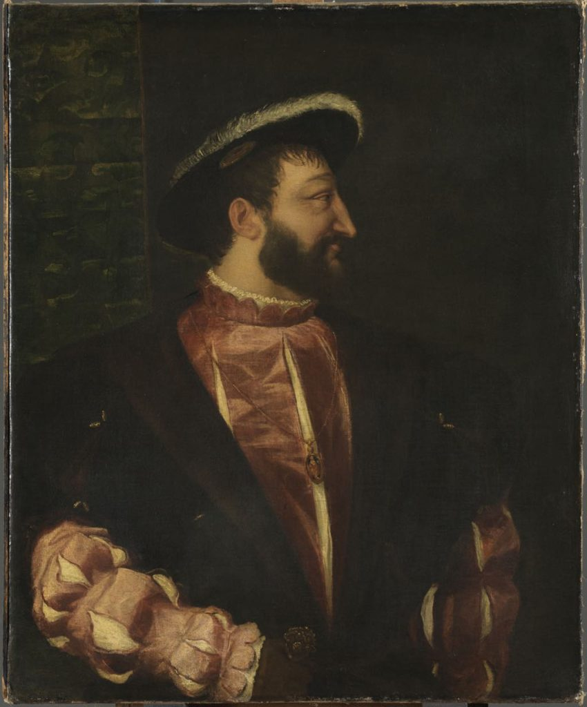 "Titian's ""François I, King of France"" Chambord"
