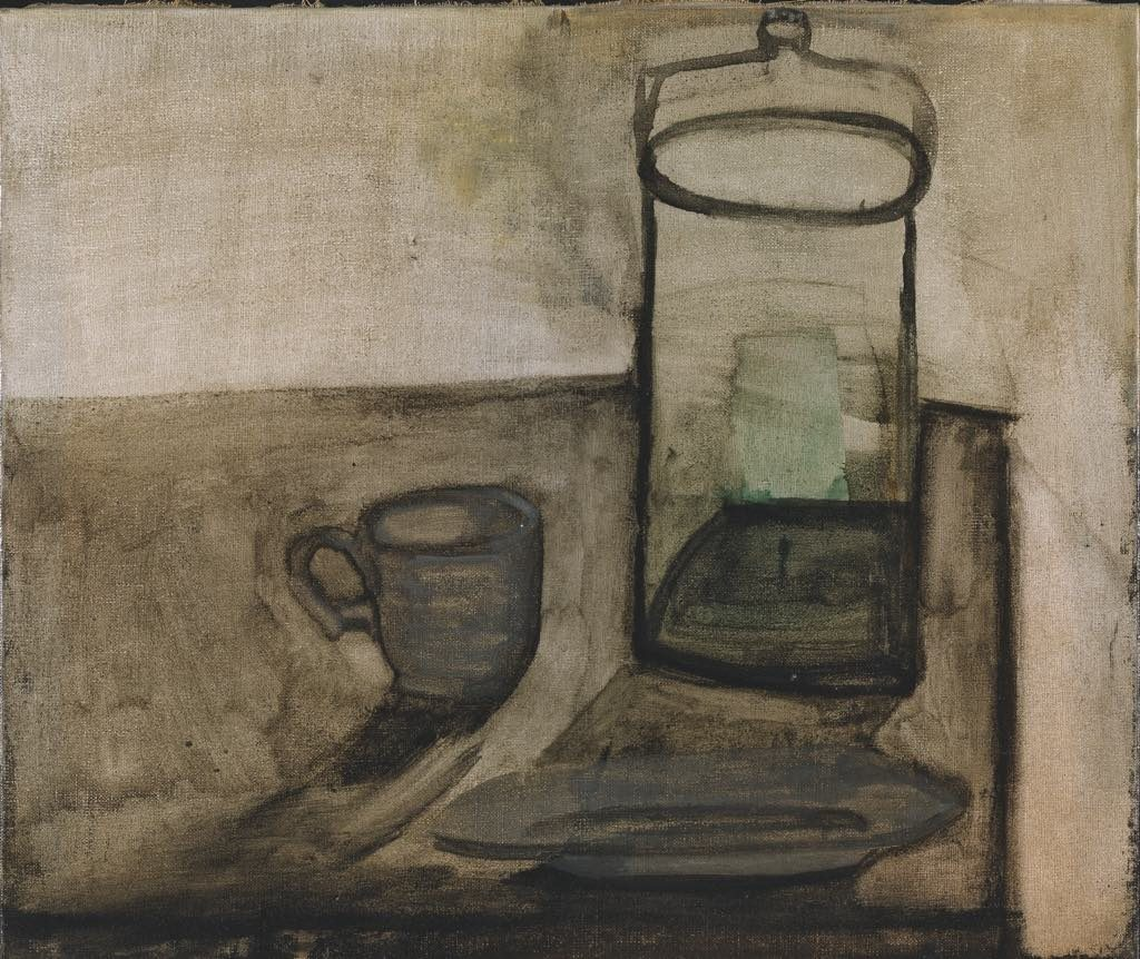 """Nature Morte au Bocal et à la Tasse"" (1945), by Dora Maar. © Adagp, Paris, 2019. Photo © Centre Pompidou, MNAM-CCI/P. Migeat/ Dist. RMN-GP"