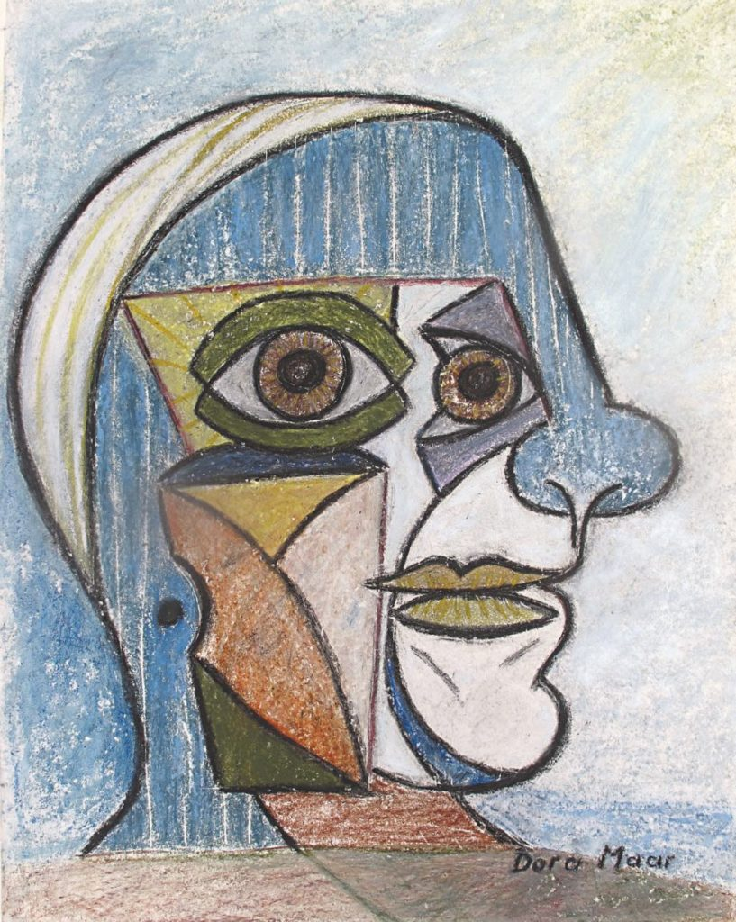 """Pablo Picasso"" (1936), by Dora Maar. © Adagp, Paris 2019. Photo © The Museum of Fine Arts, Houston"
