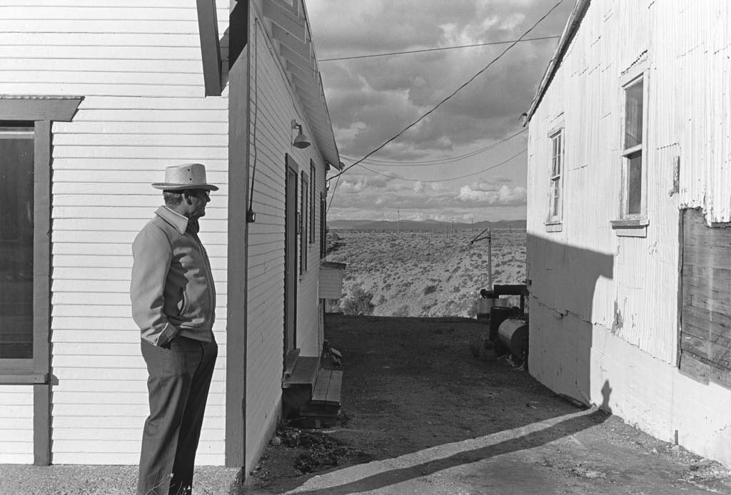 """Nevada"" (1975), by Henry Wessel. © Henry Wessel; courtesy Pace/MacGill Gallery, New York"