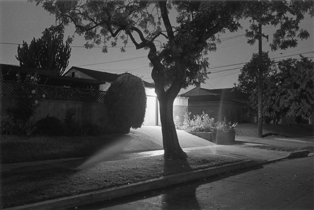 """Night Walk No. 5"" (1998), from the series ""Sunset Park,"" by Henry Wessel. © Henry Wessel ; courtesy Pace/MacGill Gallery, New York"
