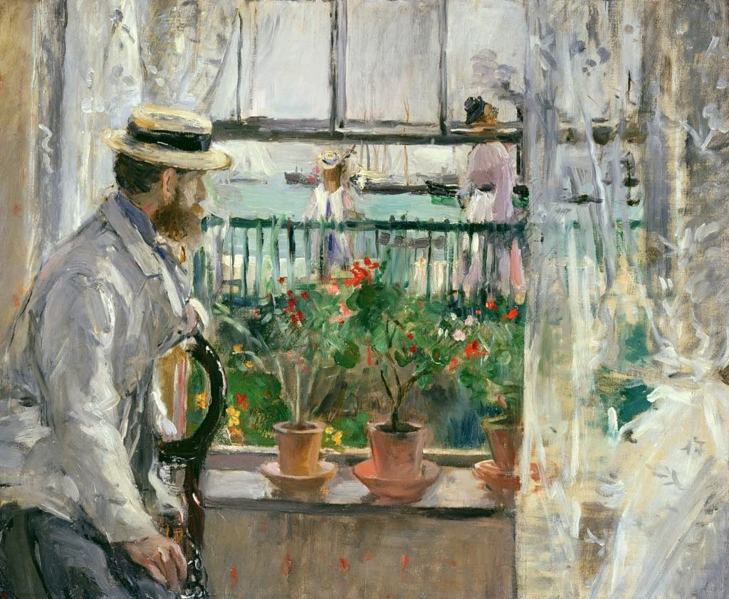 """En Angleterre (Eugène Manet à l'île de Wight)"" (1875). © Musée Marmottan Monet, Paris/the Bridgeman Art Library"