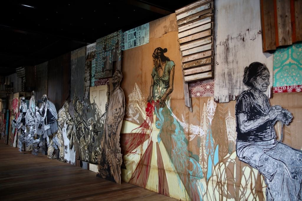 """Time Capsule"" by Swoon. © Fluctuart"