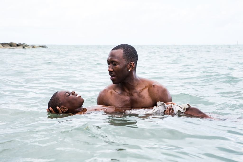 Juan (Mahershala Ali) and Little (Alex R. Hibbert) in Moonlight, directed by Barry Jenkins © Mars Films