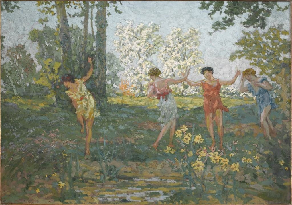 """Eurydice Bitten by a Snake"" (c. 1913). Private collection. All rights reserved. Photo: Patrice Schmidt"