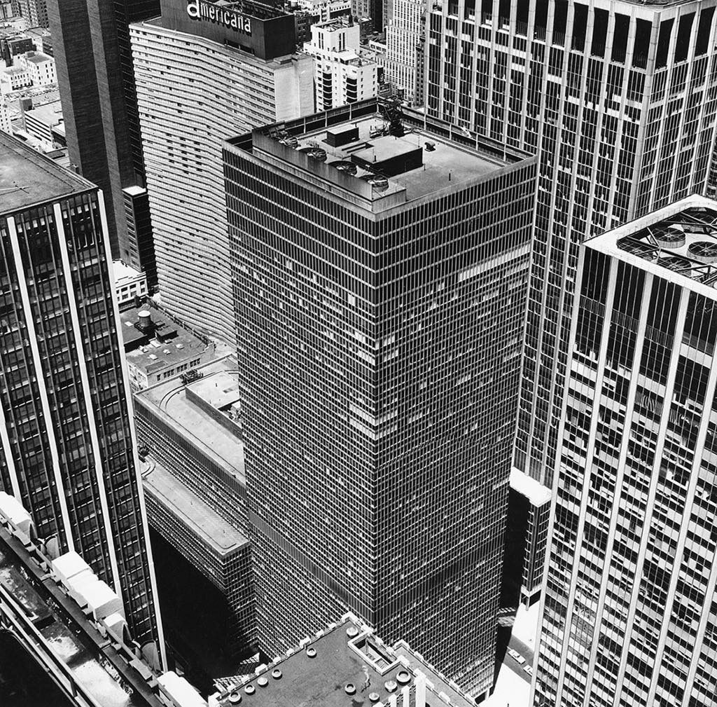 """From Rockefeller Center: The Equitable Building, 1976."" © Peter Hujar Archive, LLC, courtesy Pace/MacGill Gallery, New York and Fraenkel Gallery, San Francisco"