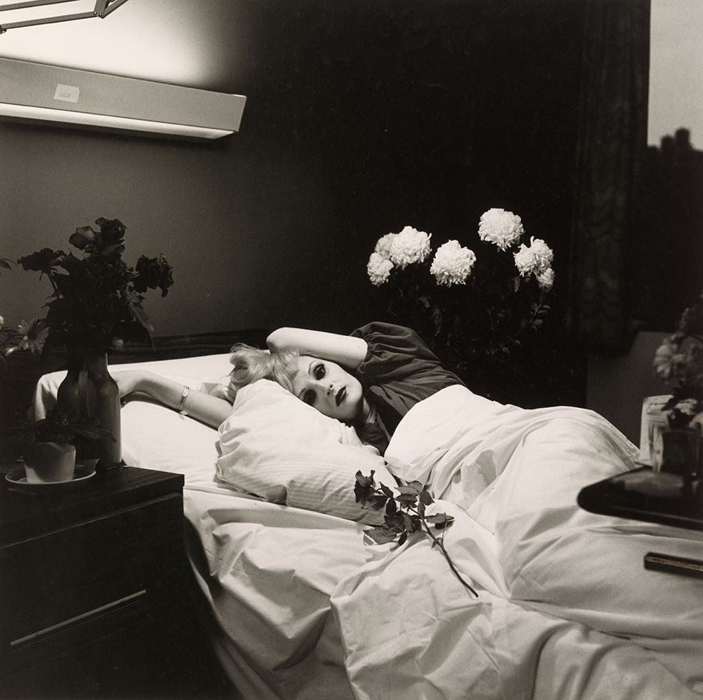 """Candy Darling on her Deathbed, 1973."" © Peter Hujar Archive, LLC, courtesy Pace/MacGill Gallery, New York and Fraenkel Gallery, San Francisco"