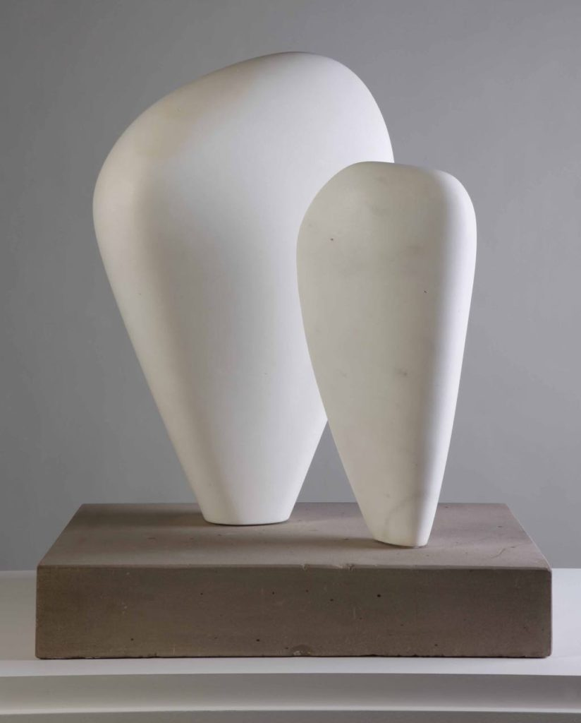 """Two Forms"" (1937) © Bowness Photo © Hepworth Estate"