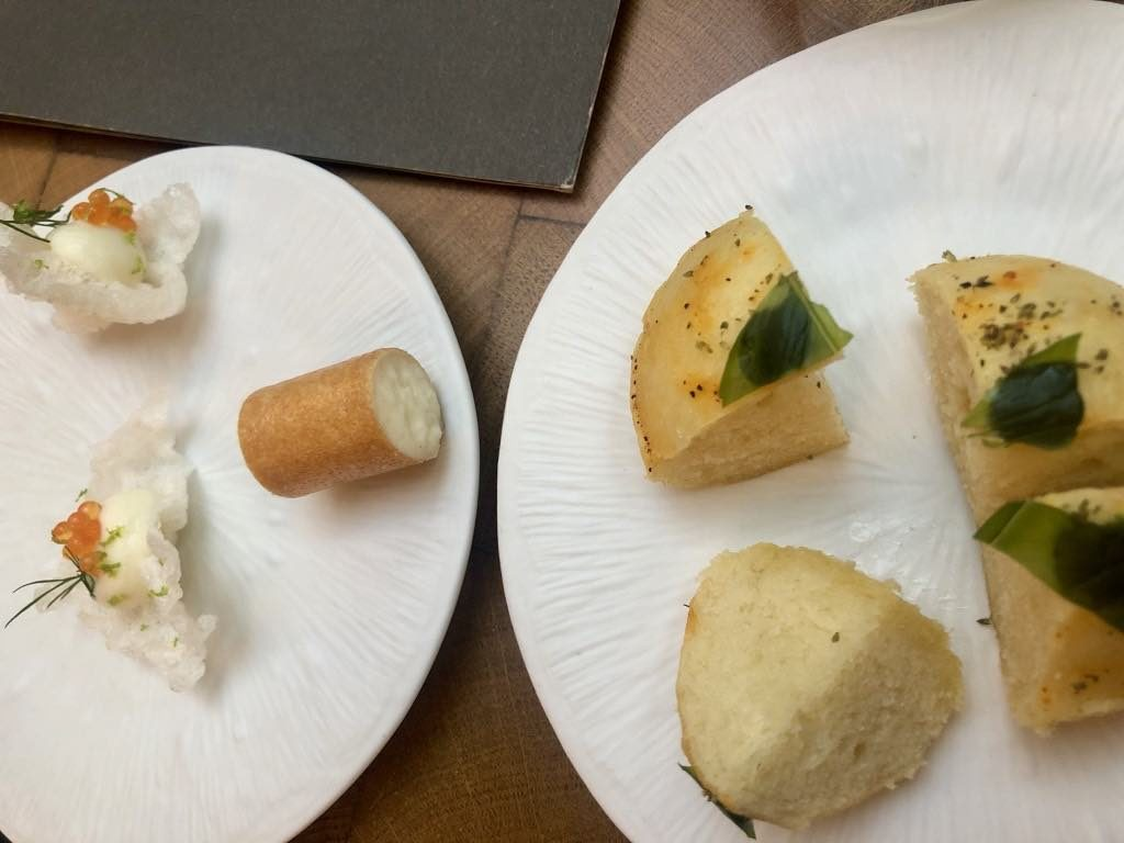 The amuse-bouches.