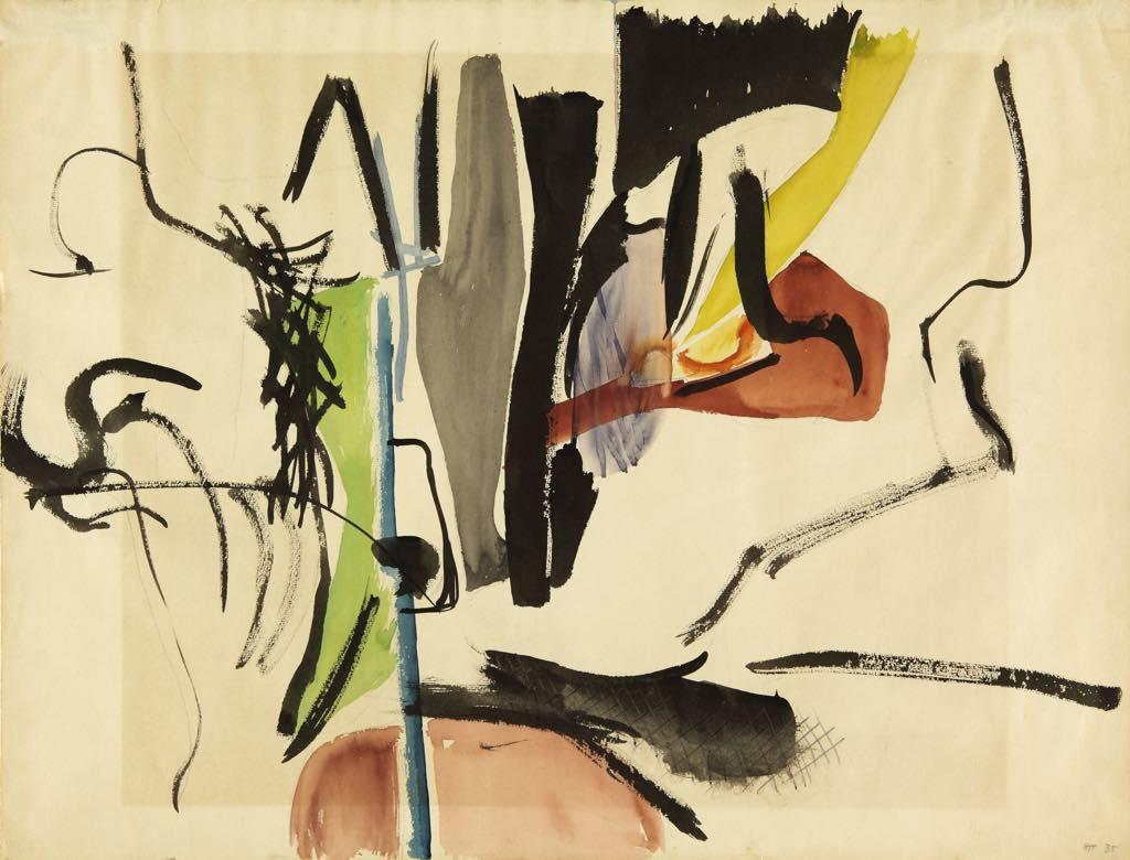 """Untitled"" (1935).© ADAGP, Paris, 2019. Photo: Fondation Hartung-Bergman"