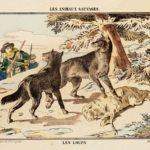 """""""Les Animaux Sauvages"""" (before 1878). © Musée de l'Image-Ville d'Épinal. Photo: Essy Erfani"""
