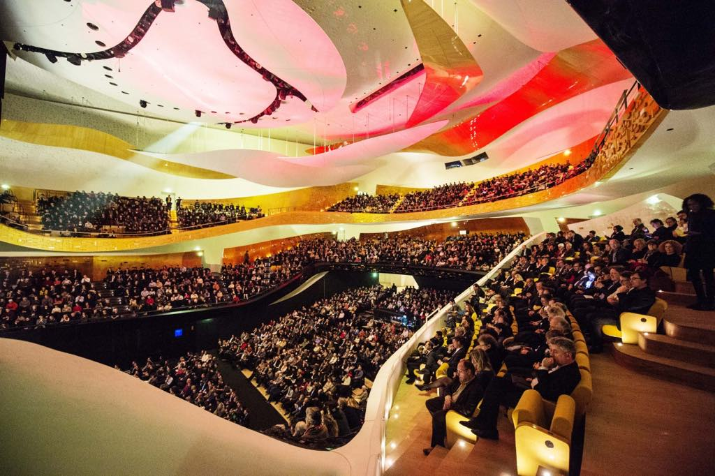 The Grande Salle Pierre Boulez. © William Beaucardet/Philharmonie de Paris