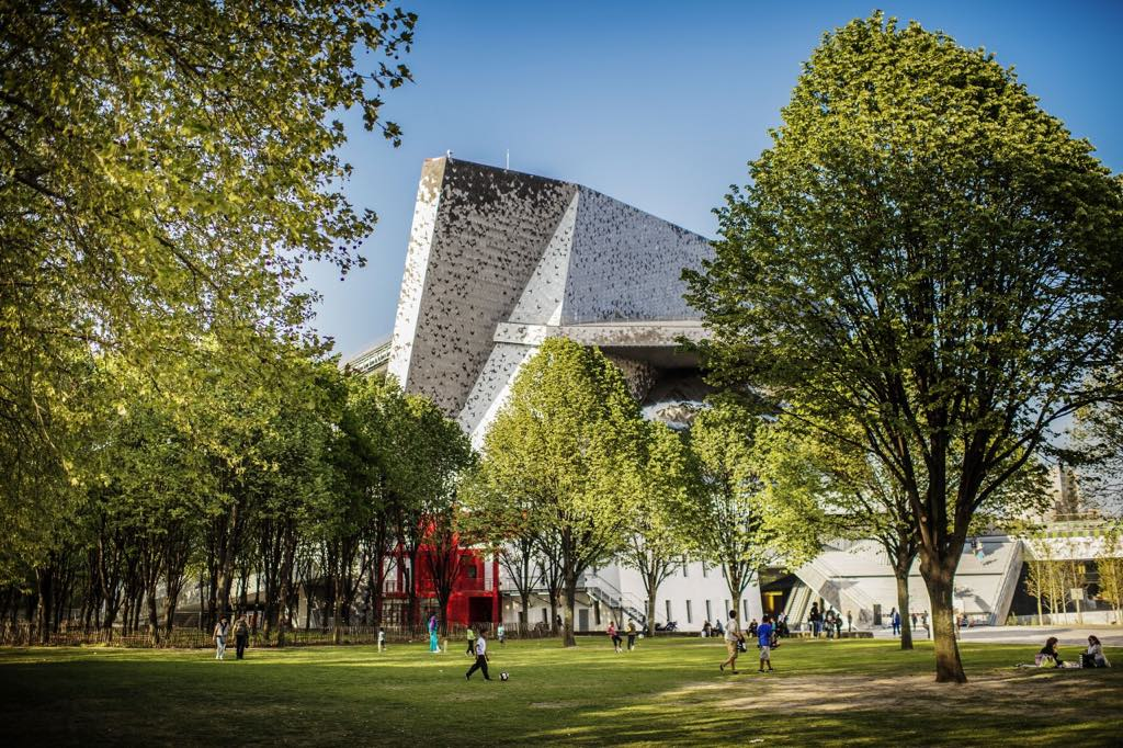 The Philharmonie seen from the Parc de la Villette © William Beaucardet/Philharmonie de Paris