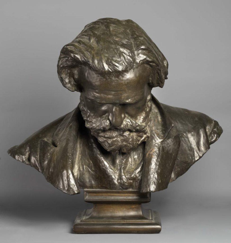 """""""Busto di Giuseppe Verdi"""" (1873). Photo Ministero per i Beni e le Attivita ulturali/Museo e Real Bosco di Capodimonte"""