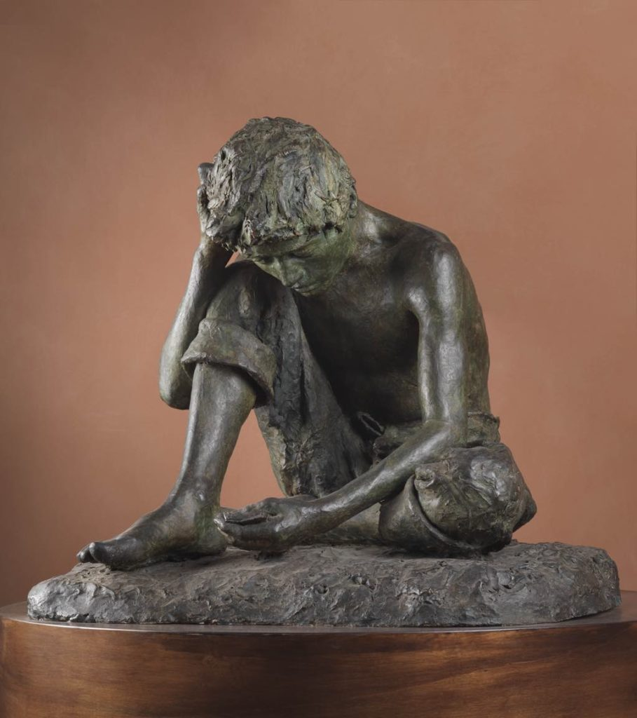 """""""Il giocatore"""" (c. 1869). Photo Ministero per i Beni e le Attivita Culturali/Museo e Real Bosco di Capodimonte"""