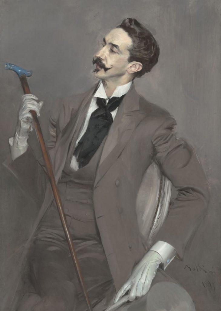 """Count Robert de Montesquiou"" (1897), by Giovanni Boldini. Photo © RMN-Grand Palais (Musée d'Orsay)/Hervé Lewandowski"