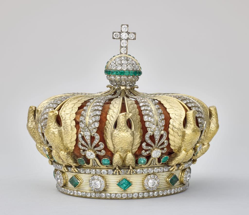 Empress Eugénie's crown, by Alexandre-Gabriel Lemonnier. © RMN - Grand Palais (Musée du Louvre) Stéphane Maréchalle