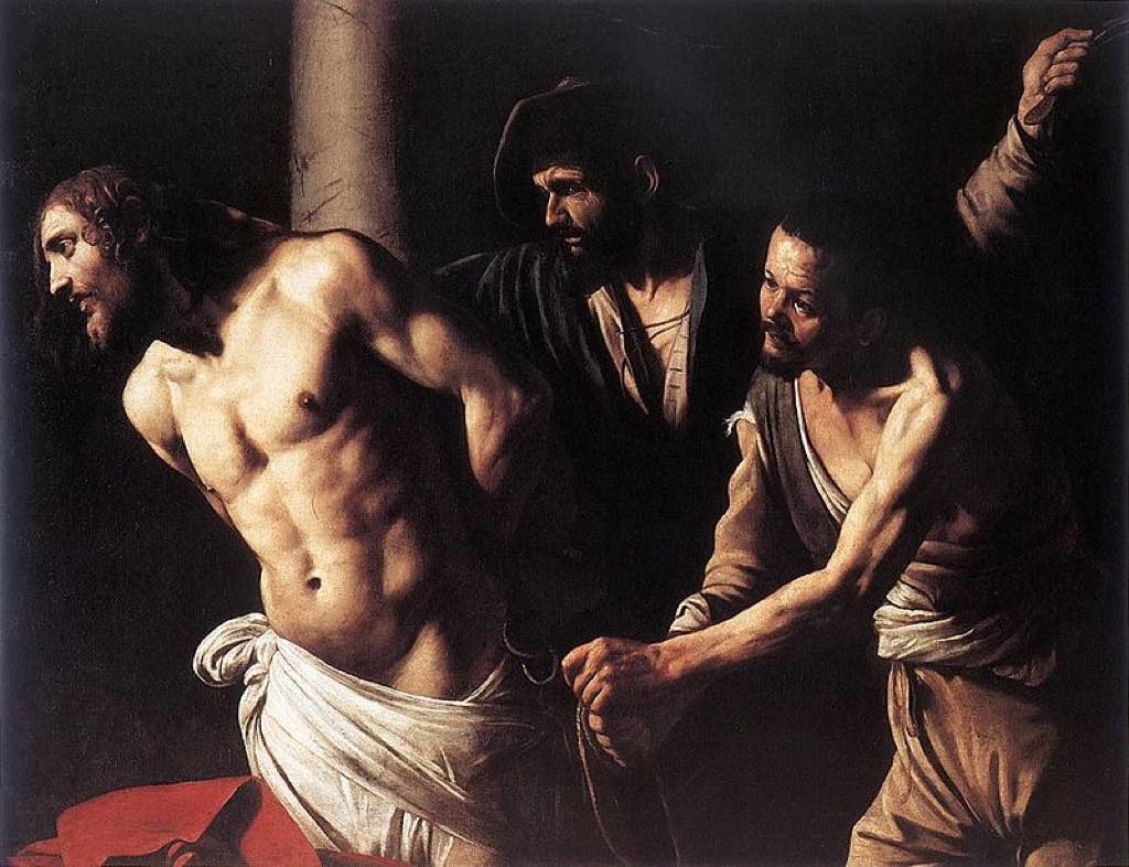 """Christ at the Column"" (or ""Flagellation of Christ"") at the Musée des Beaux-Arts de Rouen."