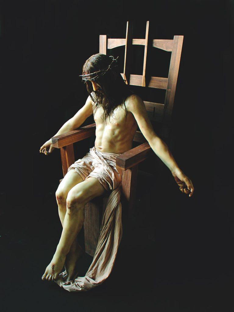 """Pietà (The Empire Never Ended)"" (2007), by Paul Fryer. © Photo: Dan Colen. © Collection Pinault, Paul Fryer, 2019."