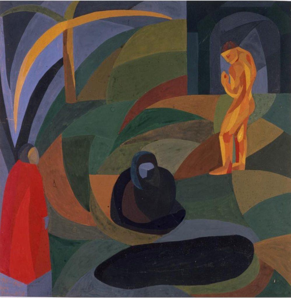 """""""Composition with Three Figures"""" (1911/1941). © Musée de Pontoise"""