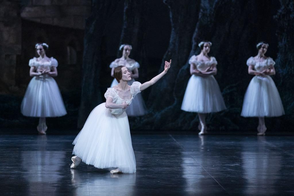 Ludmila Pagliero in the Paris Opera's production of Giselle. Photo: Yonathan_Kellerman