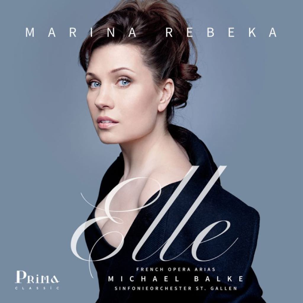 The cover of Marina Rebeka's new album of French opera arias, Elle.