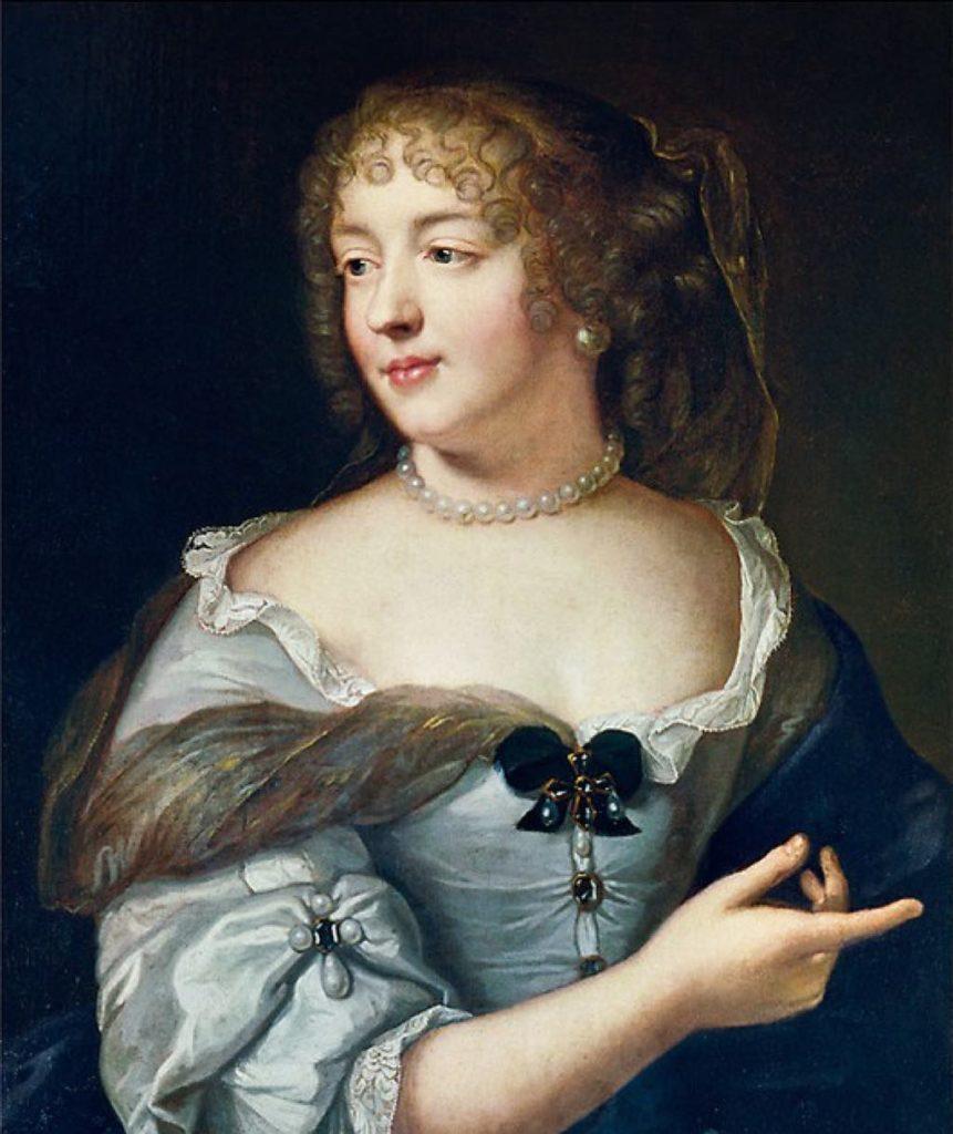 The Marquise de Sévigné (c. 1663), by Claude Lefèbvre.