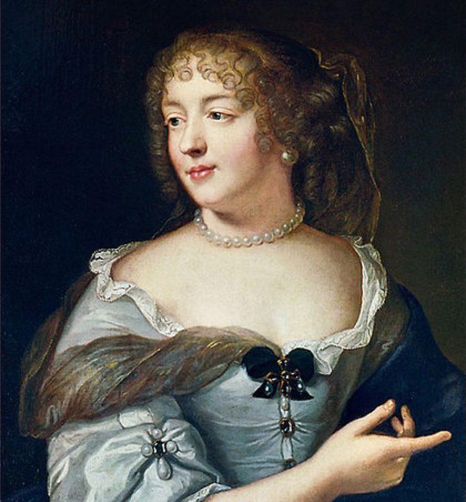 """""""La Marquise de Sévigné"""" (c. 1665), by Claude Lefèbvre."""