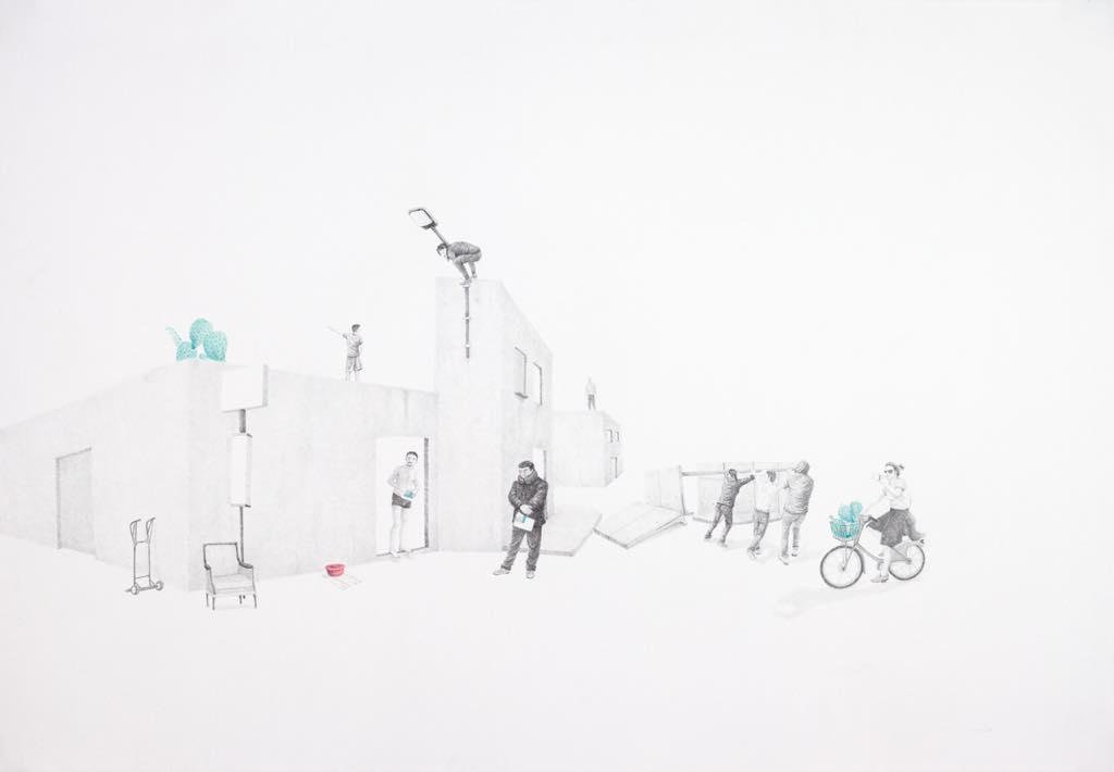 """""""Détour du Lendemain"""" (2019), by Massinissa Selmani. © Courtesy the artist and Galerie Anne-Sarah Bénichou"""