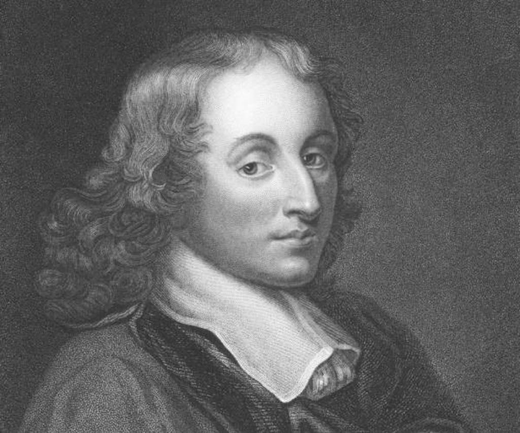 Blaise Pascal (1623 - 1662).