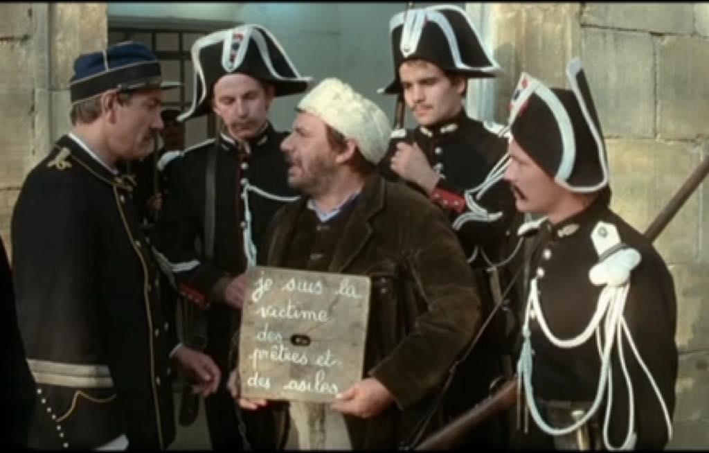 A scene from Bertrand Tavernier's Le Juge et l'Assassin (1976).