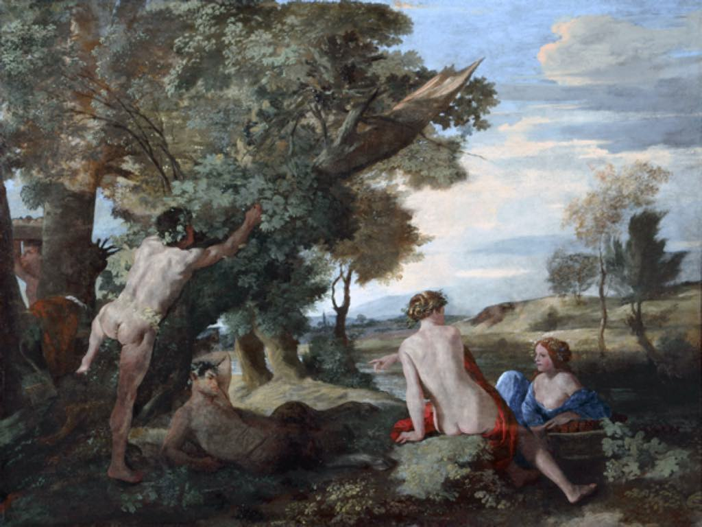 """Landscape with Bacchus and Ceres"" (c. 1625-28), by Nicolas Poussin. © National Museums Liverpool, Walker Art Gallery"