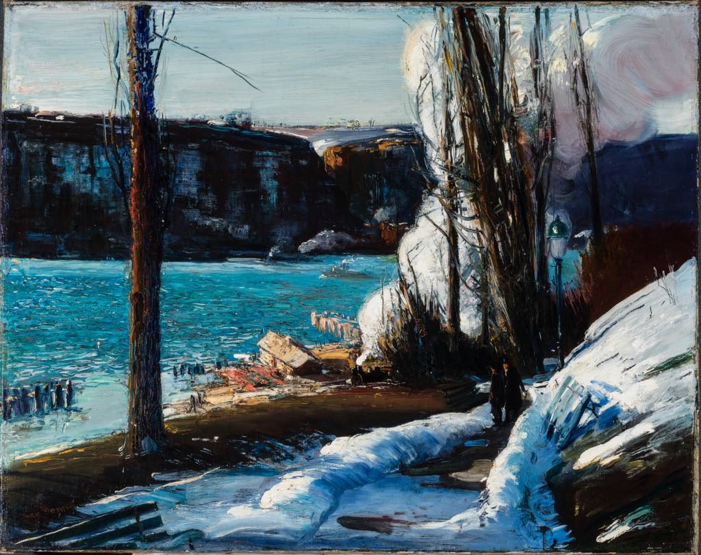 """""""The Palisades"""" (1909), by George Bellows. © Terra Foundation for American Art, Chicago"""