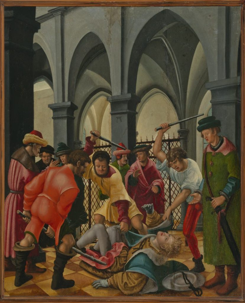"""Martyrdom of Saint Florian"" (c. 1520), by Albrecht Altdorfer. © Prague, National Gallery 2019"