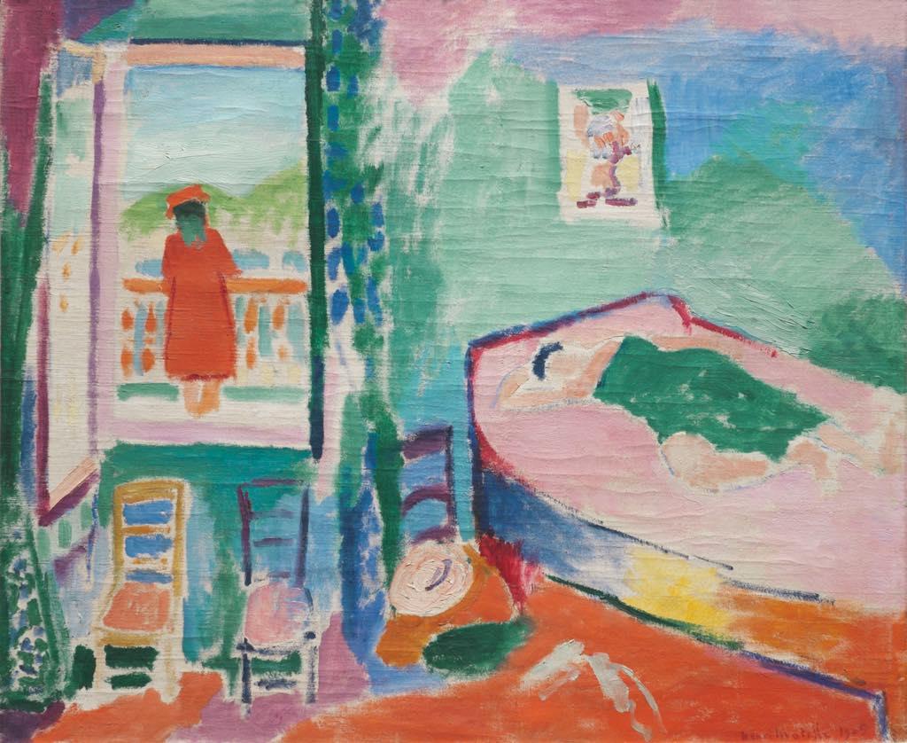 """""""The Siesta"""" (1905) © Succession H. Matisse. Photo © Merzbacher Kunststiftung"""