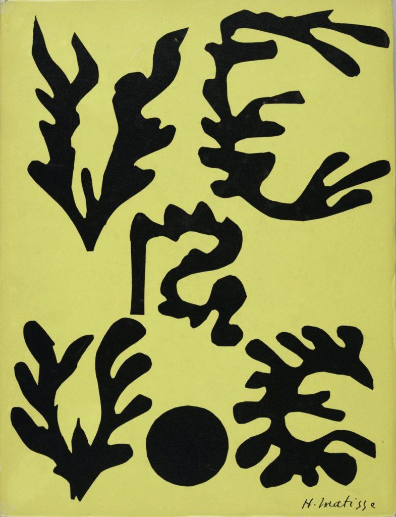 Verve, no. 21-22 (1948), with cover by Matisse. © Succession H. Matisse. Photo © Centre Pompidou, Mnam-Cci, Bibliothèque Kandinsky/Dist. Rmn-Gp