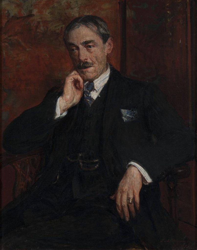 """""""Portrait of Paul Valéry"""" (1923), by Jacques-Émile Blanche. © Agence Albatros/Réunion des Musées Métropolitains Rouen Normandie"""