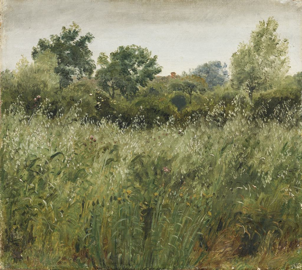 """Oat Field in Vejby"" (1843), by Peter Christian Skovgaard. © SMK Photo/Jakob Skou-Hansen"