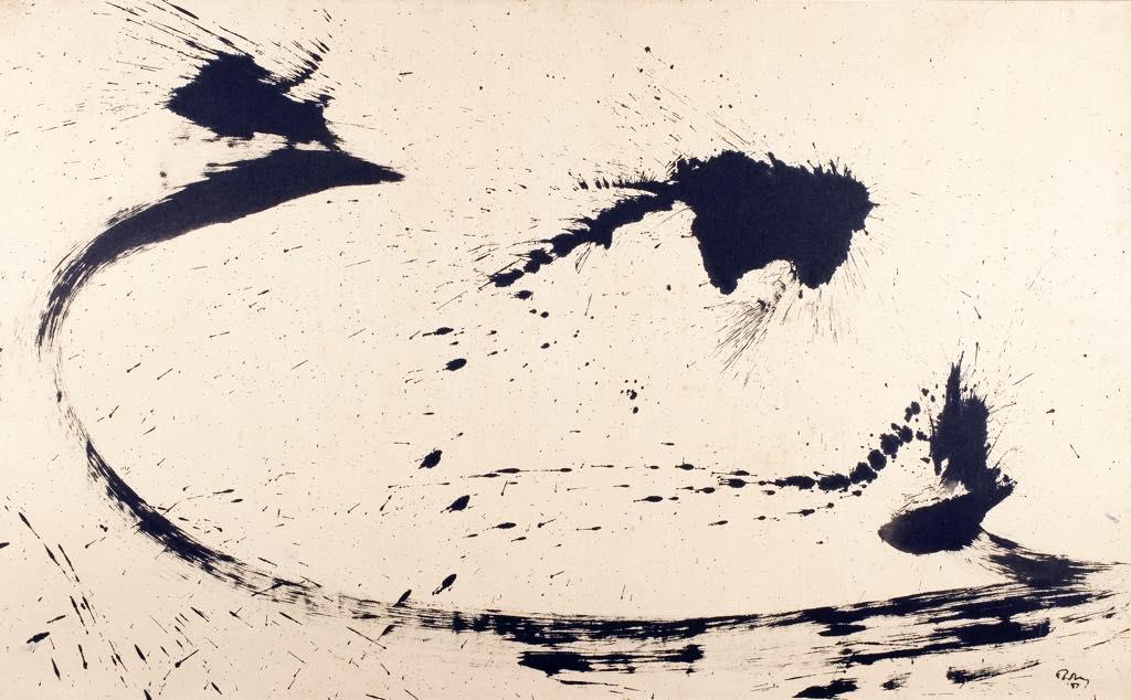 """""""Composition No. 1"""" (1957). Courtesy Collection de Bueil & Ract-Madoux, Paris © D.R."""