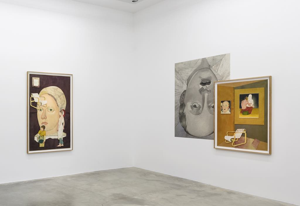 """Exhibition view of """"Inner Songes."""" Photo © Claire Dorn"""