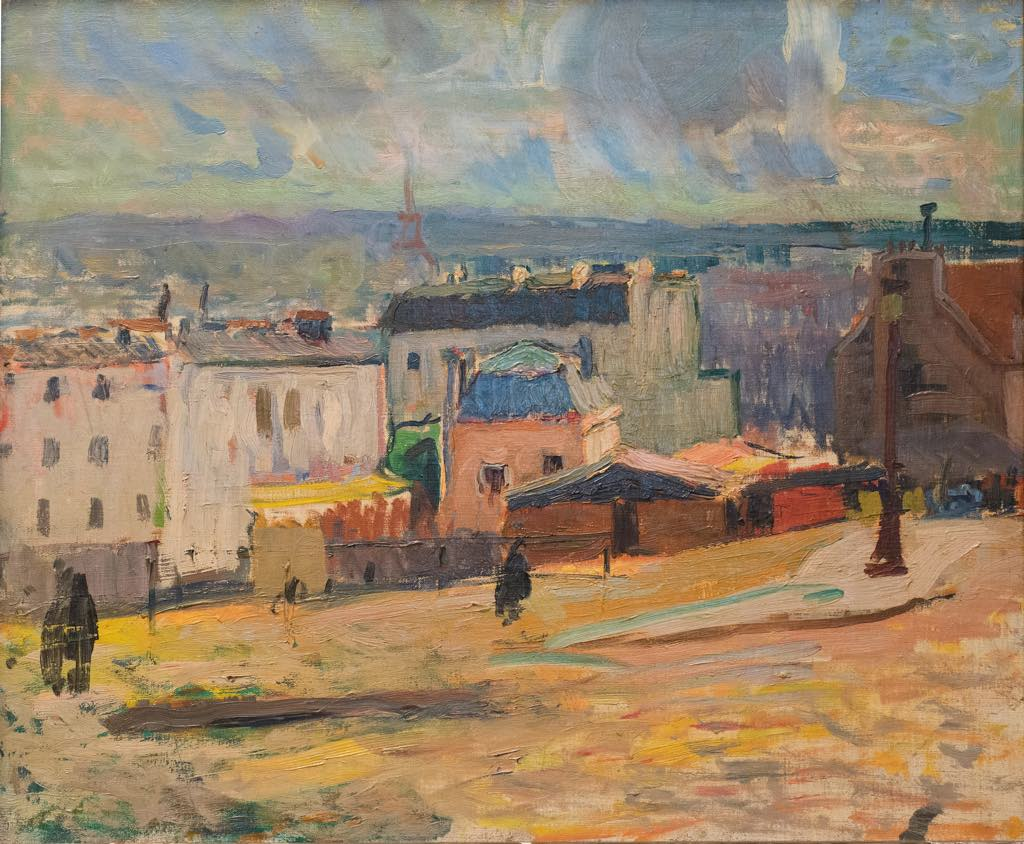 """View of Paris from Montmartre"" (1902), by Raoul Dufy. © Adagp, Paris 2021"