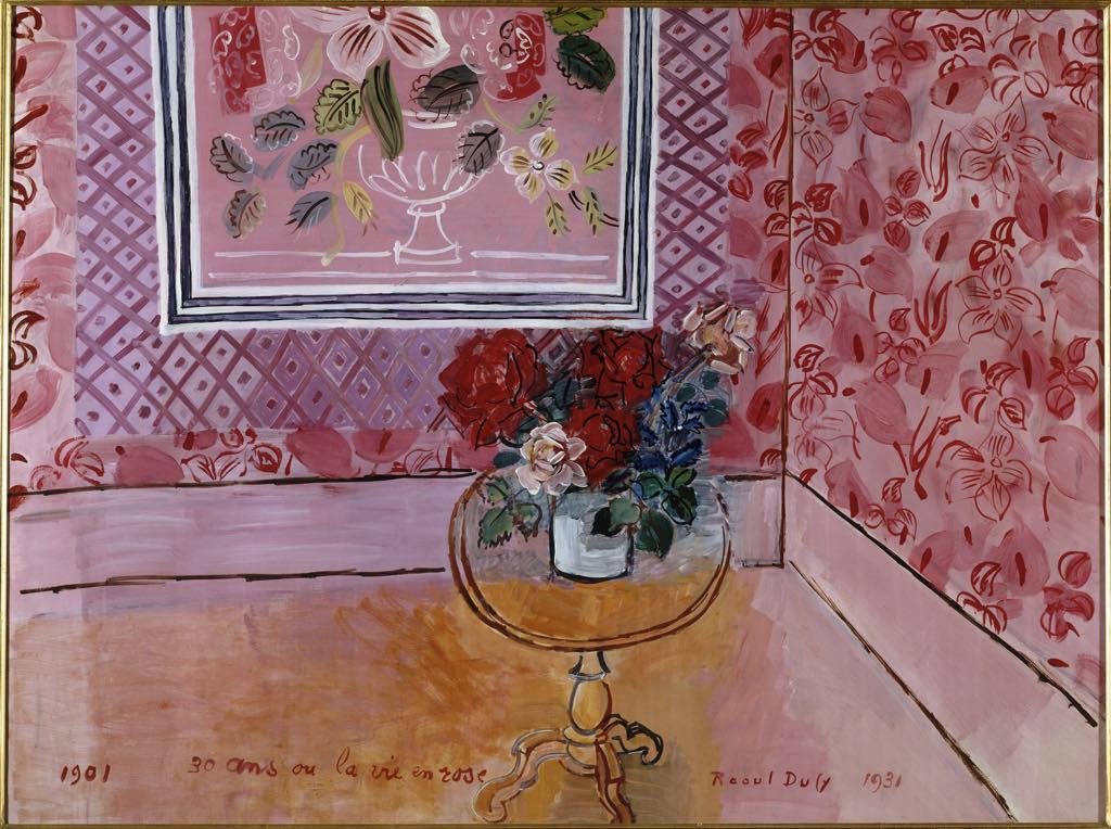 """""""30 Ans ou la Vie en Rose"""" (1901), by Raoul Dufy. © Adagp, Paris 2021"""