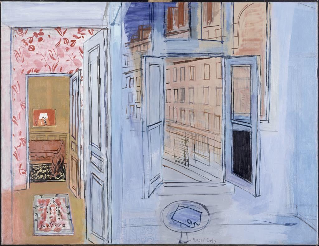 """""""L'Atelier de l'Impasse Guelma"""" (1935-52), by Raoul Dufy. © Adagp, Paris 2021"""