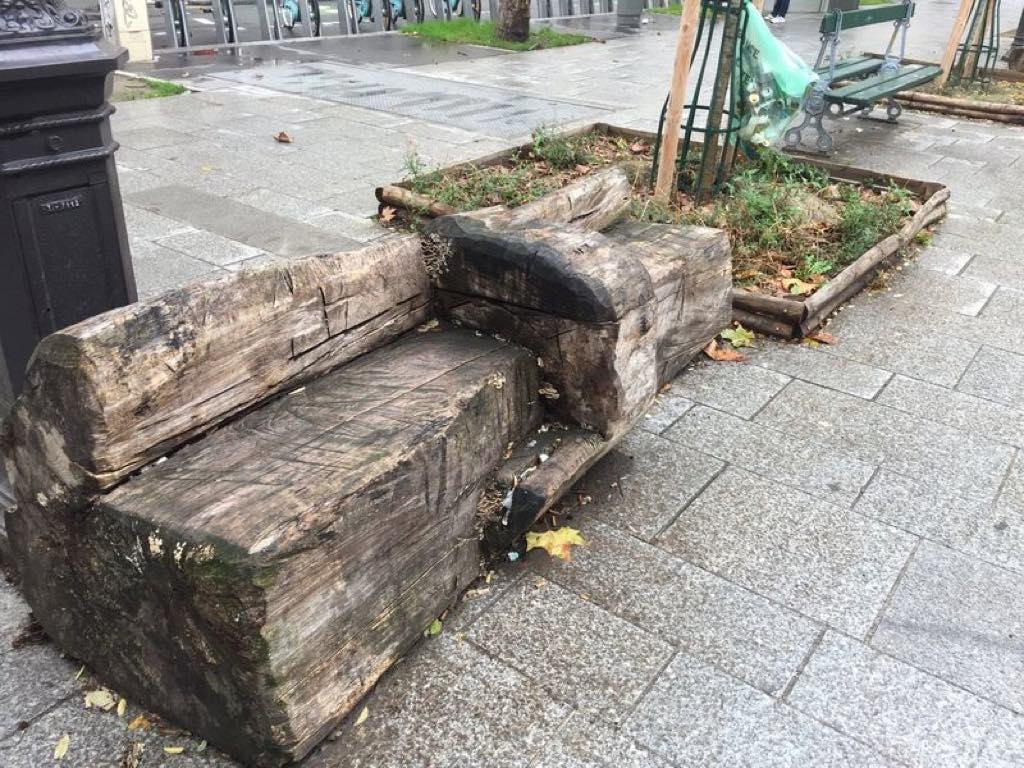 Paris Street Furniture Breakdown