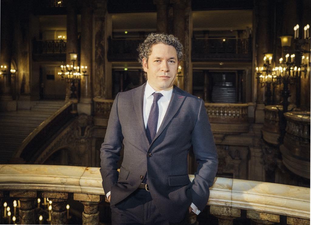 Gustavo Dudamel, the new music director at the Opéra National de Paris. © Julien Mignot/Opéra National de Paris
