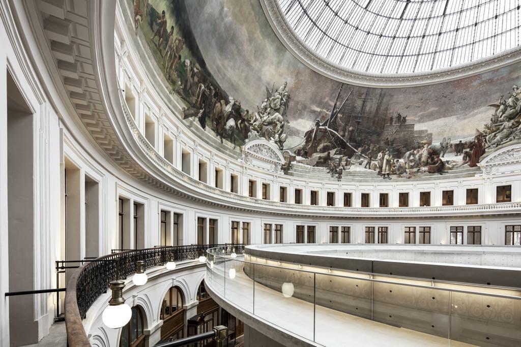 Bourse de Commerce–Pinault Collection © Tadao Ando Architect & Associates, Niney et Marca Architectes, Agence Pierre-Antoine Gatier. Photo: Patrick Tourneboeuf